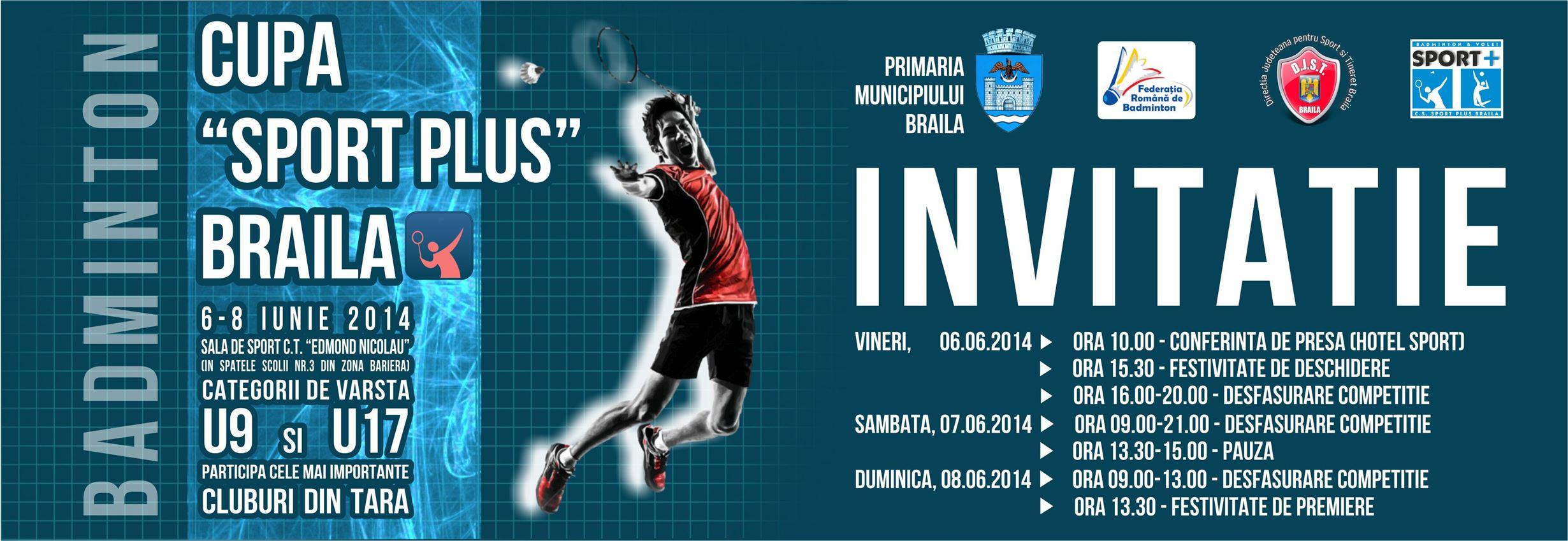 Competitie nationala de badminton la Braila