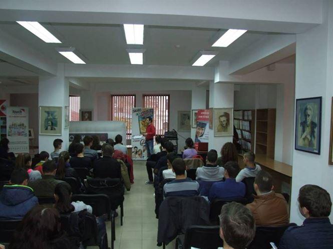 Conferintele BookLand Evolution apreciate de liceeni braileni