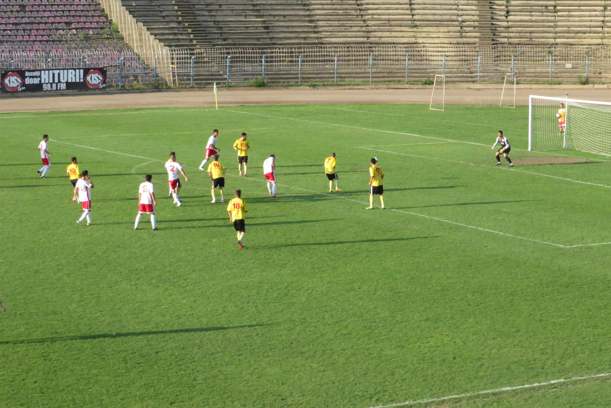 Conpetul a umilit Callatisul, scor 7-0
