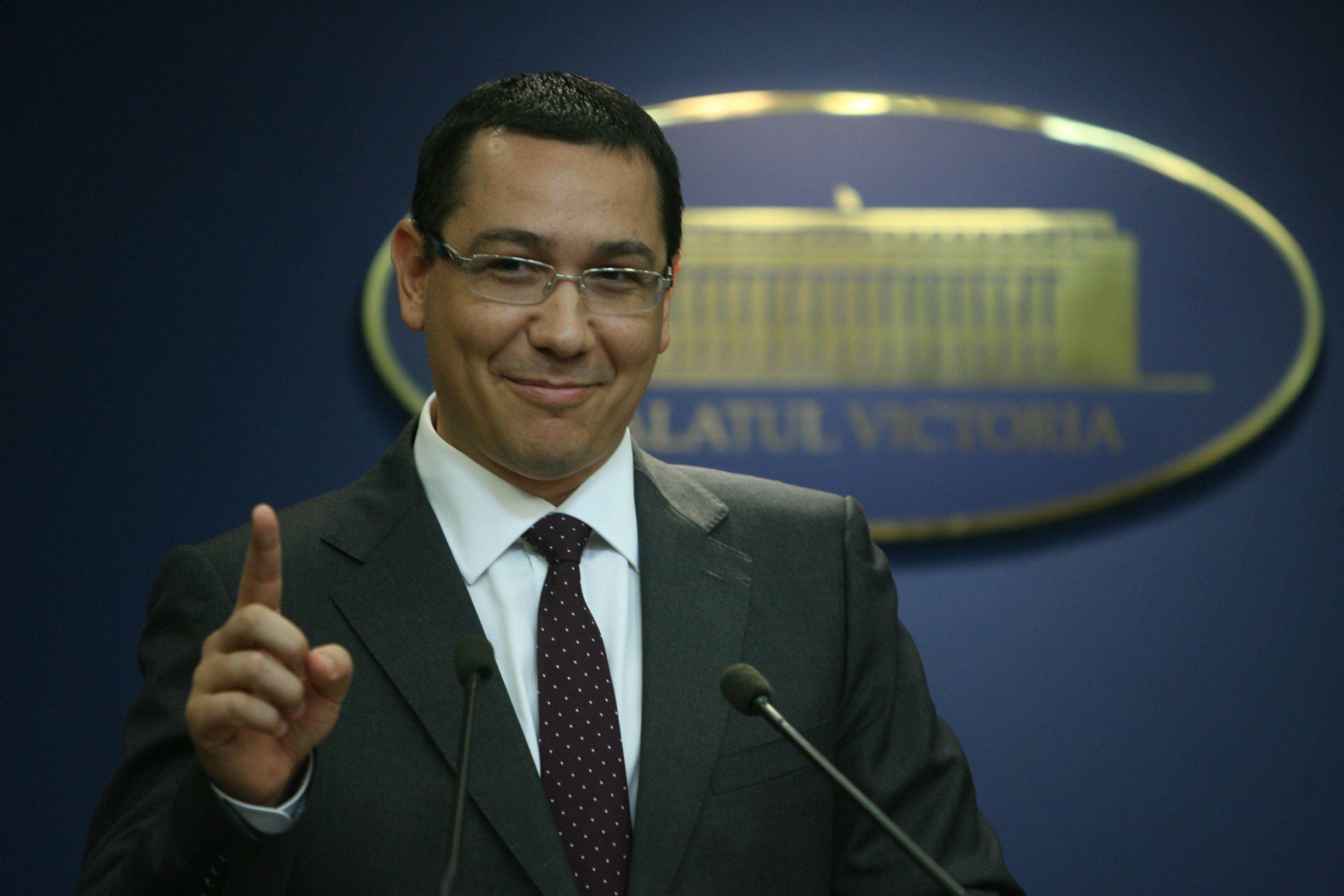 Cum vrea Ponta sa faca rost de un million de voturi