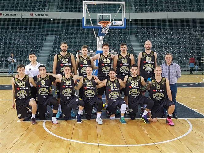 Cuza Sport Braila al doilea succes in faza semifinala a Ligii 1 la baschet masculin