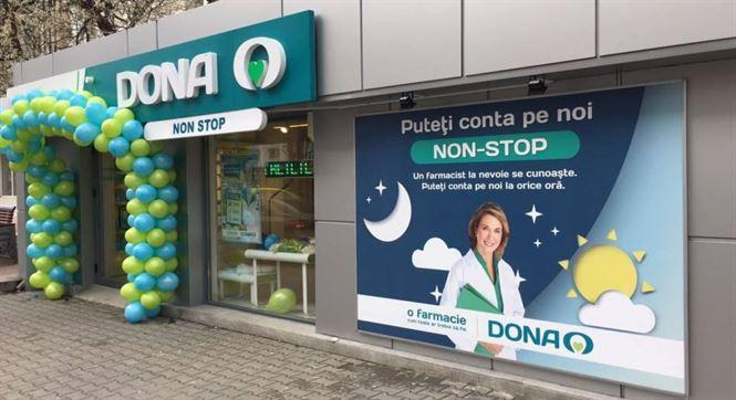 Farmacia DONA din Obor va fi deschisă non-stop de sărbători