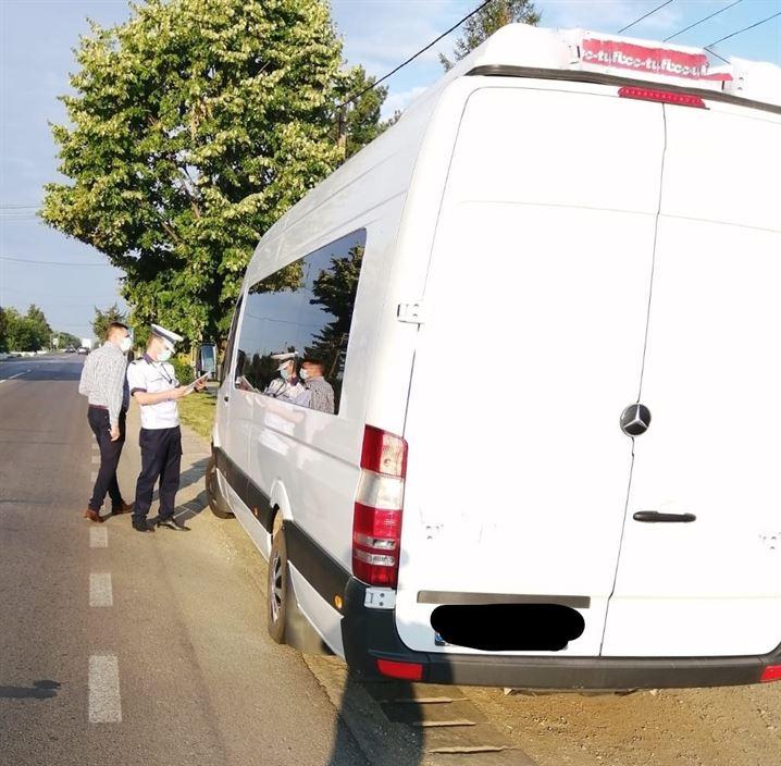 Acțiuni ale polițiștilor pentru siguranța traficului rutier