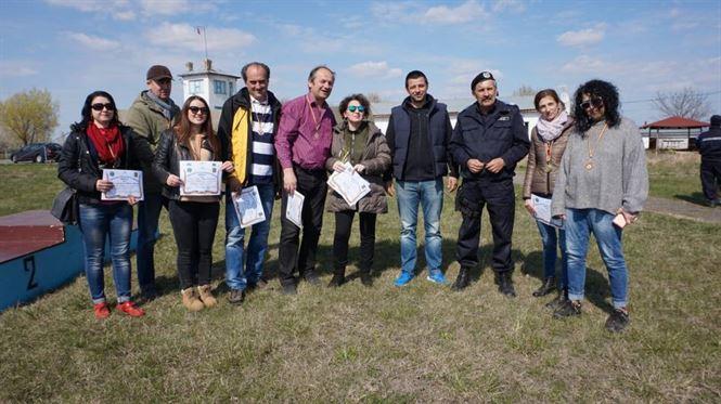 Ziariștii brăileni s-au întrecut la Cupa Presei la tir, organizată de Jandarmeria Brăila
