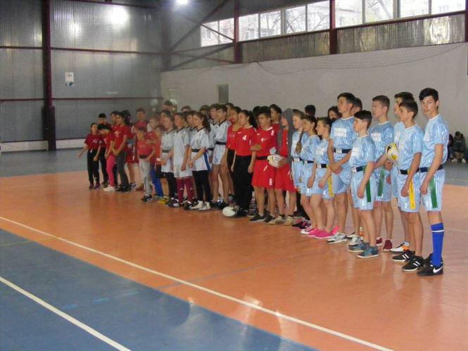 Echipa scolii gimnaziale din Stancuta a castigat faza judeteana a ONSS la rugby-tag