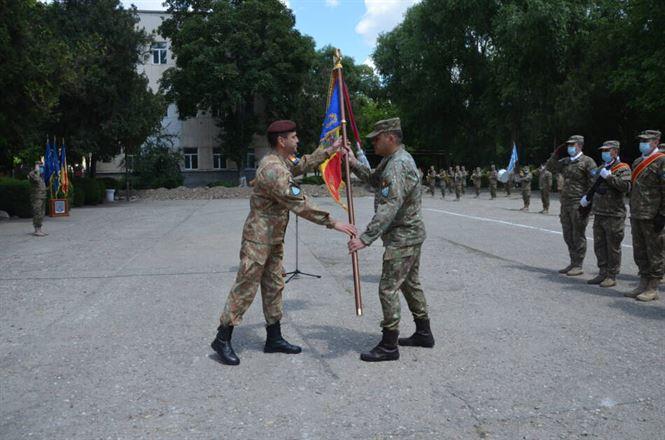 """Ceremonial de predare-primire a comenzii la Batalionului 72 Geniu """"General Constantin Savu"""""""