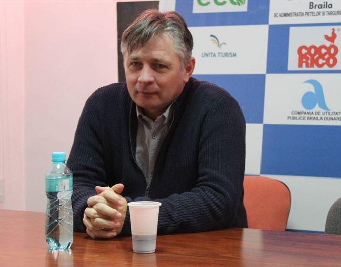 Declarații Aurelian Roșca la conferința de presă organizată înaintea meciului cu SCM Gloria Buzău