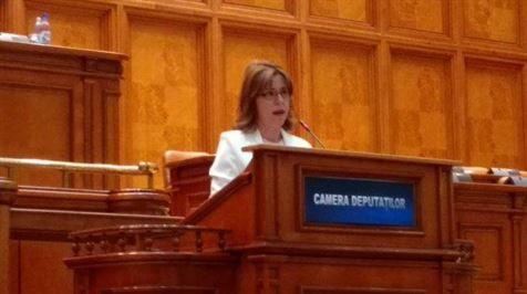 Antoneta Ioniță este vicelider al grupului PNL din Camera Deputaților