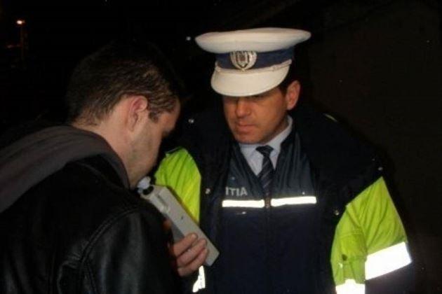 Depistat sub influenta alcoolului pe o strada din Insuratei