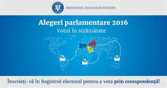 Doar 3613 cereri de inscriere in Registrul Electoral depuse de romanii din strainatate