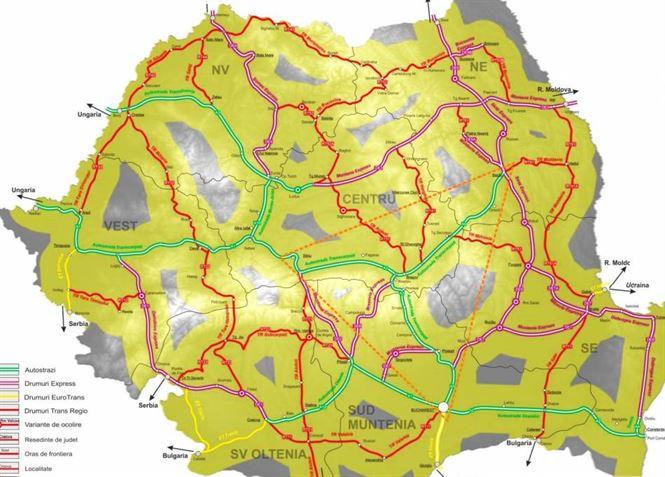 Doar Nazare si Petrea interesati de Masterplanul pe Transporturi