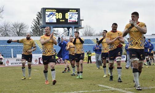 Doi braileni in echipa Romaniei care a invins Rusia cu 30-0