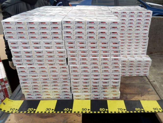 Dosar penal pentru transportul de tigarete de contrabanda