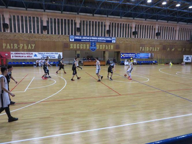 Dupa infrangerea severa la juniori U 18, baschetbalistii braileni de la U 16 spera sa castige astazi meciul cu Slam Bucuresti
