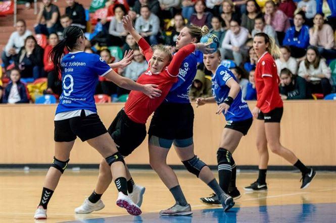 Echipa a doua a HC Dunărea Brăila a pierdut derby-ul de la Galați cu CSM