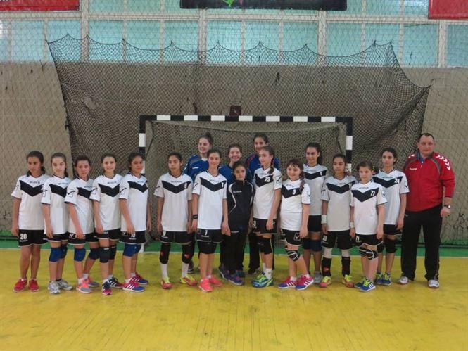 Echipa de handbal junioare IV a LPS Braila a castigat turneul zonal de la Braila