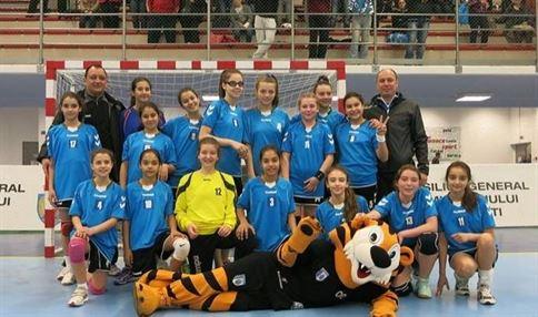 Echipa de handbal junioare a LPS Braila, locul 2 la Cupa Primaverii