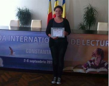 """Eleva de la Murgoci locul 5 la Olimpiada Internationala """"Lectura ca abilitate de viata"""""""