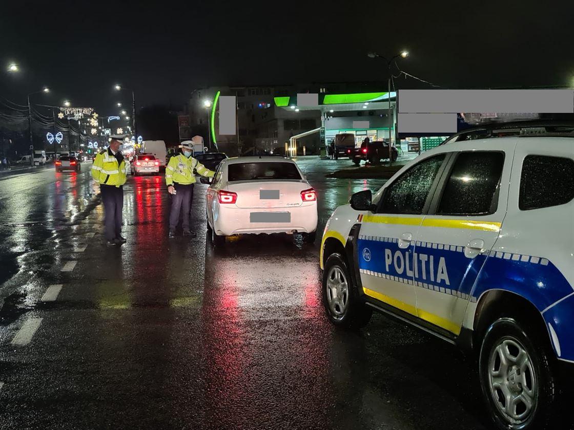 Polițiștii au aplicat amenzi în valoare totală de 26.500 de lei