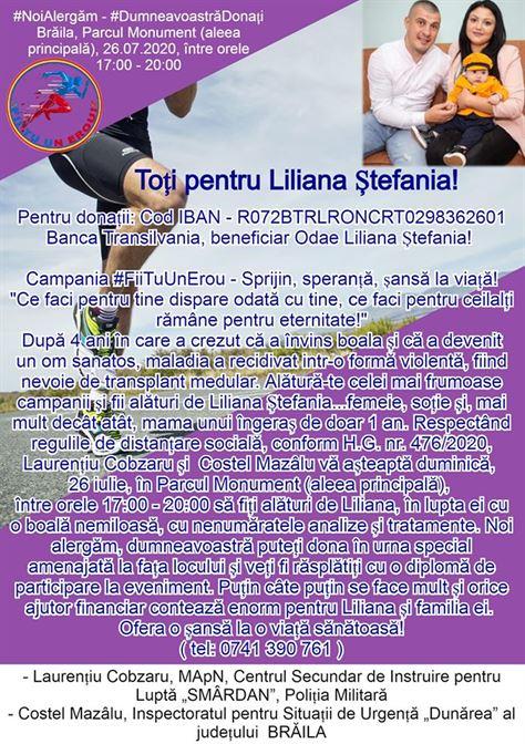 Fii tu un erou pentru Liliana