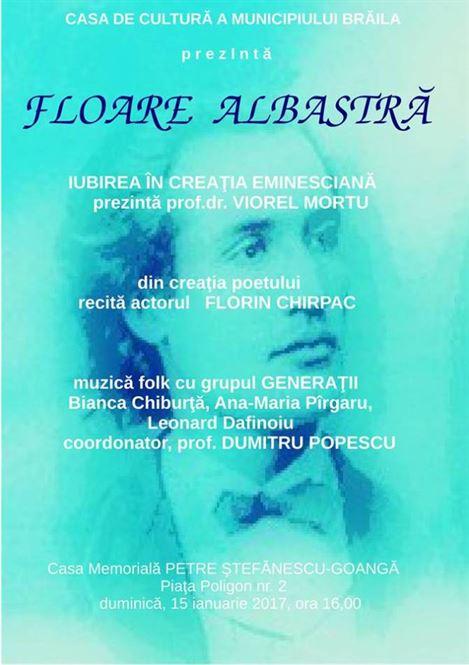 Moment de sarbatoare, 167 de ani de la nasterea Luceafarului poeziei romanesti
