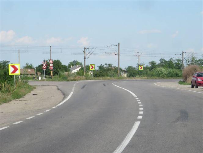 Focsanean prin baut pe DE 87, in afara comunei Vadeni
