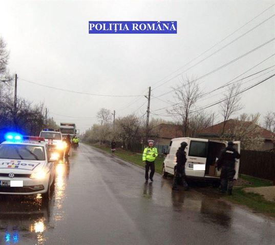 Actiuni ale politistilor din Faurei