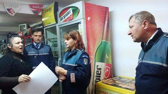Politistii au luat cu asalt cafe-barurile
