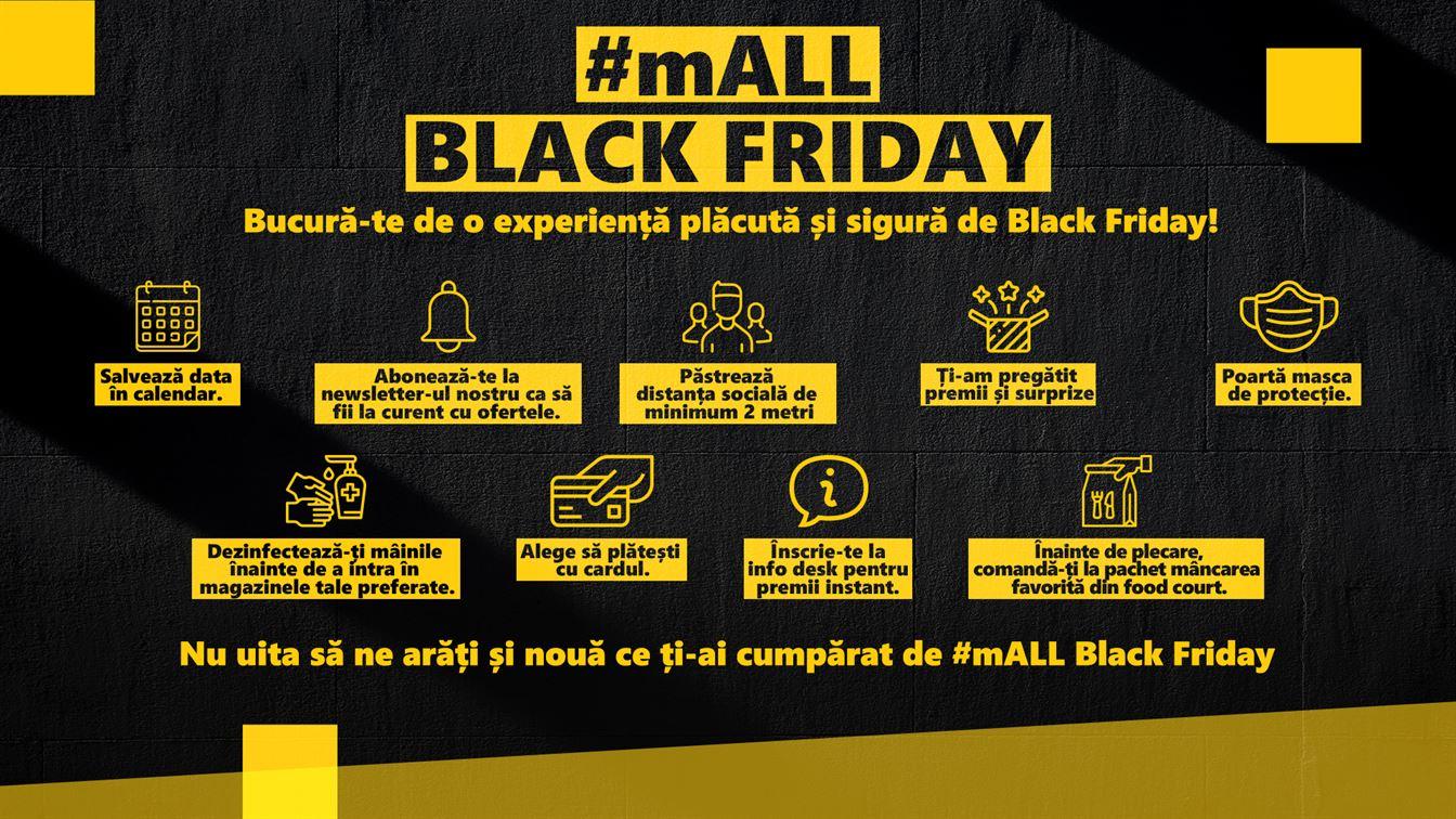#mALL BLACK FRIDAY la Brăila Mall pe 13-15 noiembrie și 20-22 noiembrie