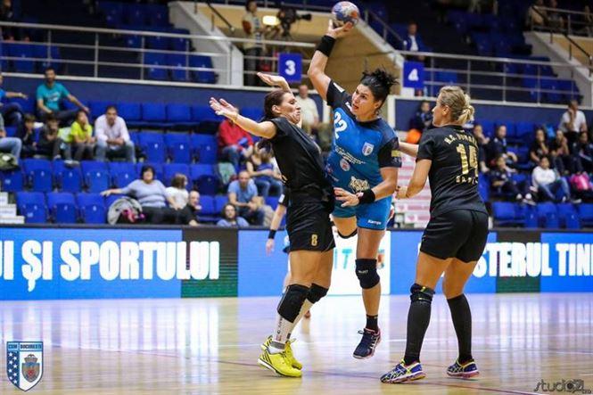 HC Dunarea a mentinut echilibrul pana in minutul 37 al meciului cu CSM Bucuresti