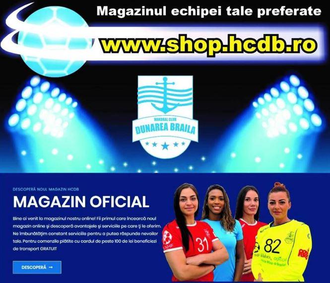 HC Dunarea lanseaza astazi magazinul online