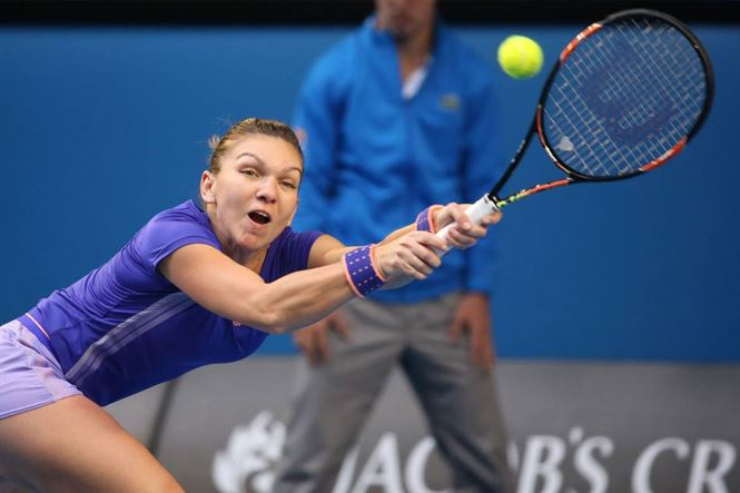 Halep a egalat performanta de anul trecut la Australian Open