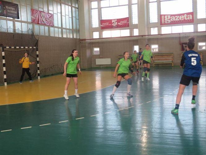 Handbalistele junioare 2 de la LPS Braila au castigat grupa la turneul semifinal 1