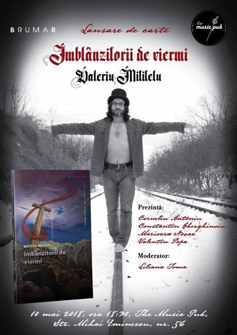 Valeriu Mititelu lansează la The Music Pub al treilea volum de poezie