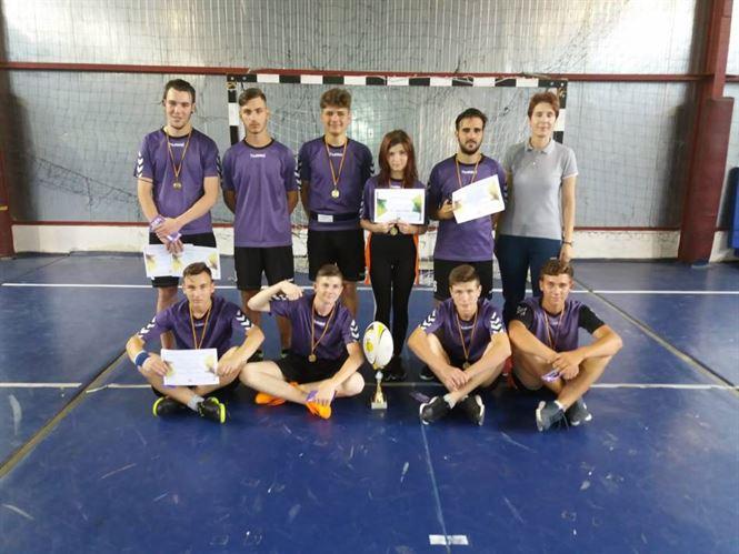 Echipa Liceului Anghel Saligny a castigat Cupa Anghel Saligny la rugy-tag