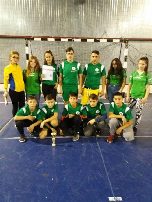 Echipa Liceului Anghel Saligny a câștigat Cupa Haka la rugby-tag