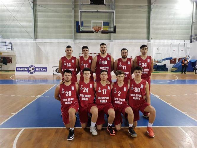 Cuza Sport Brăila nu renunță și joacă numai cu juniori în Liga Națională