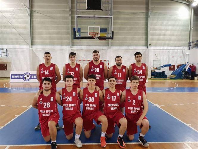 Juniorii de la Cuza Sport au luptat de la egal la egal cu jucători valoroși de la CSM Mediaș