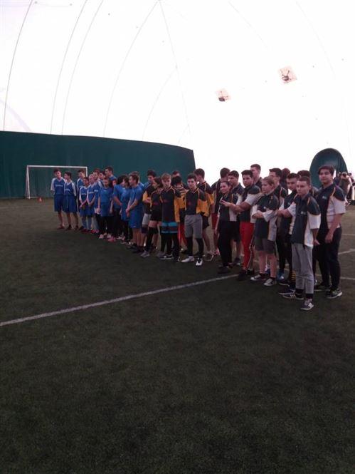"""Echipa de la Liceul Panait Cerna a câștigat """"Cupa Liceului Mihail Sebastian"""" la rugby-tag"""