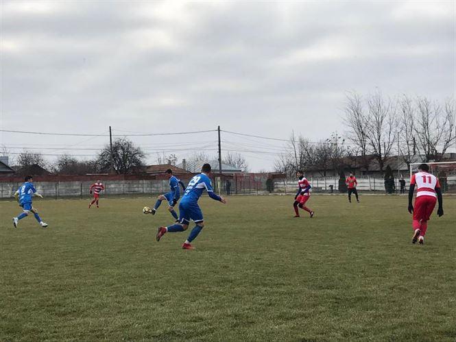 Dacia Unirea Brăila a terminat la egalitate amicalul cu Sporting Liești