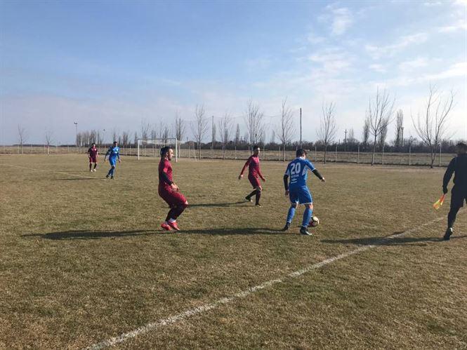 Dacia Unirea Brăila a încheiat cu meciurile amicale cu o înfrângere în fața Viitorului Ianca