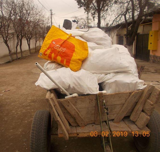 Amenzi pentru depozitarea gunoaielor pe domeniul public