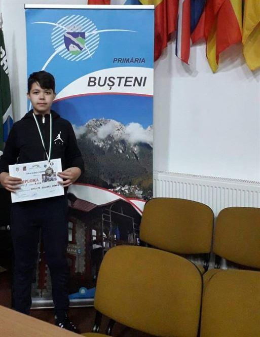 Medalie de argint pentru brăileanul Eduard Gabriel Ancuța