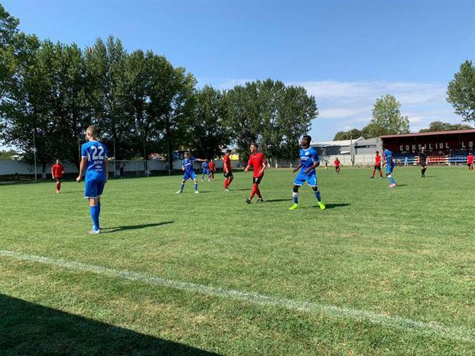 Dacia Unirea Brăila a câștigat cu 3-2 ultimul amical înaintea startului în Liga a 3-a