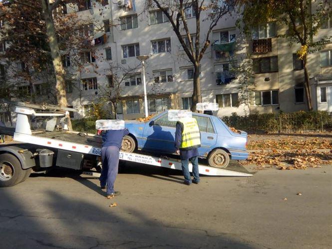Poliția locală din Brăila a identificat 232 autovehicule abandonate