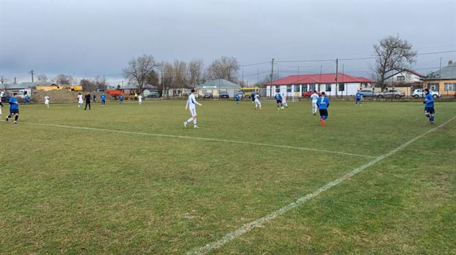 Dacia Unirea a câștigat cu 2-0 amicalul cu Sportul Chiscani