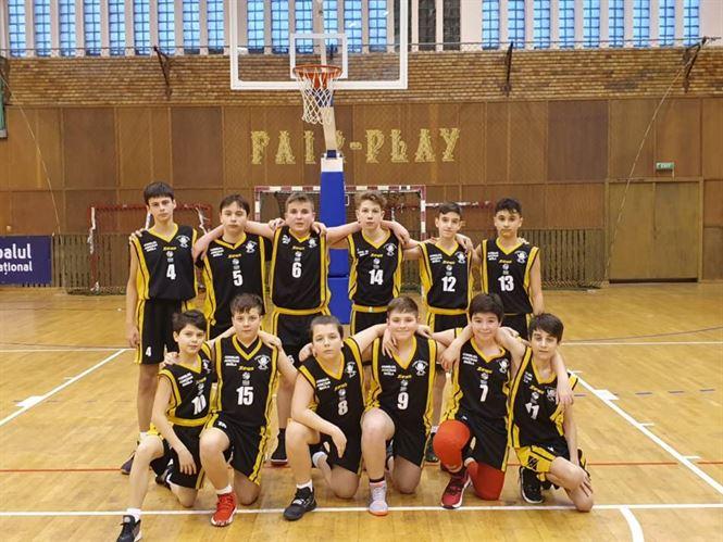 Cuza Pirates Brăila a câștigat turneul de baschet juniori U13 desfășurat duminică la Brăila