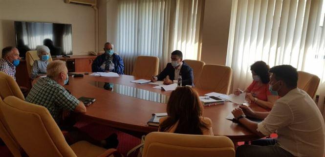 Discuții inițiate de Prefectura Brăila cu reprezentanții CNAIR, CUP Dunărea și ADI Dunărea, pentru relocarea conductelor de apă în zona construcției Podului peste Dunăre