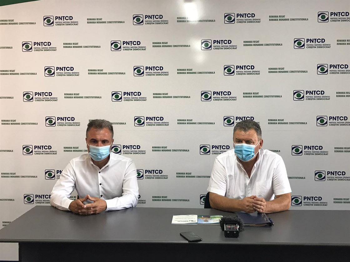 Chiru și Techiu și-au anunțat candidaturile din partea PNȚCD