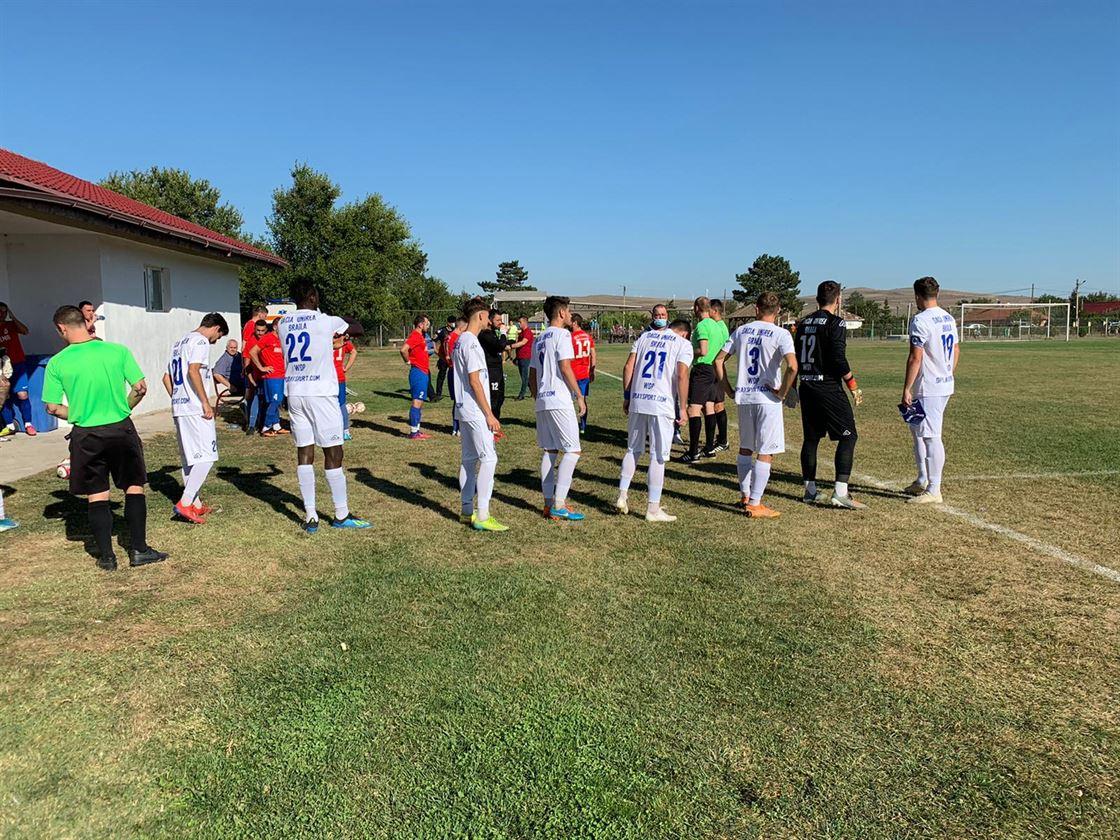 Dacia Unirea Brăila a câștigat cu 4-0 primul meci oficial din sezonul 2020-2021